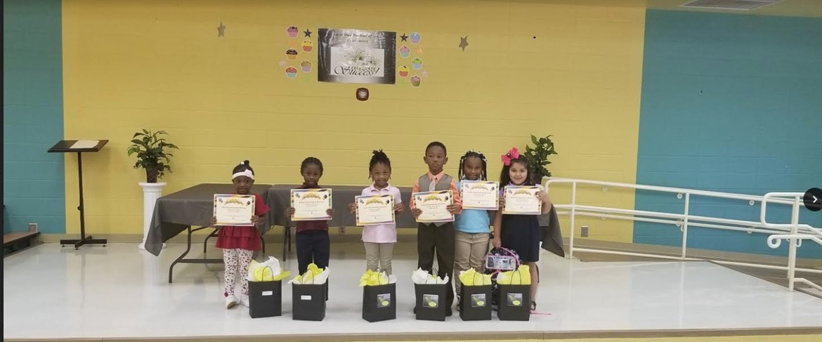 August Student of the Month Kindergarten